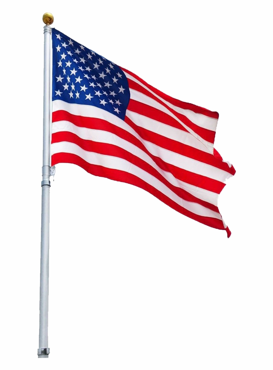 Usa Flag Transparent Background.