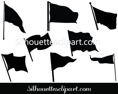 Flags Vector Graphics.