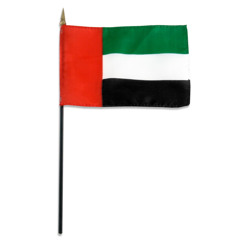 United Arab Emirates flag 4 x 6 inch.