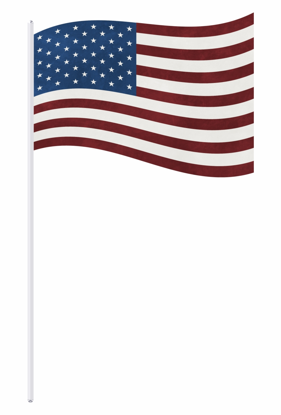 Free American Flag On Pole Png, Download Free Clip Art, Free.