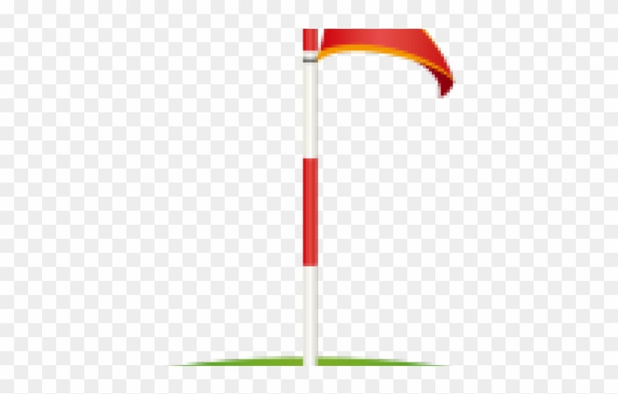 Golf Clipart Flagstick.