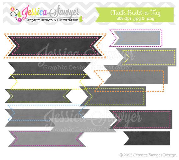 INSTANT DOWNLOAD build a flag chalk digital frame stitched.