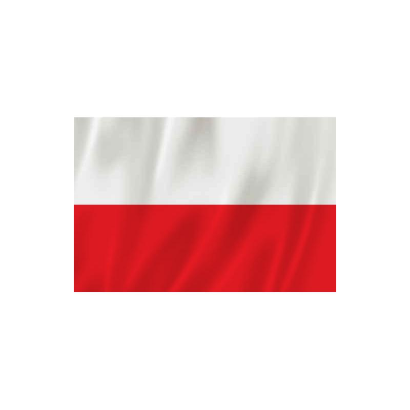 Flaga Polski 112x70cm.