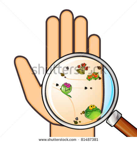 bacteria clipart bacteria with flagellum #md.