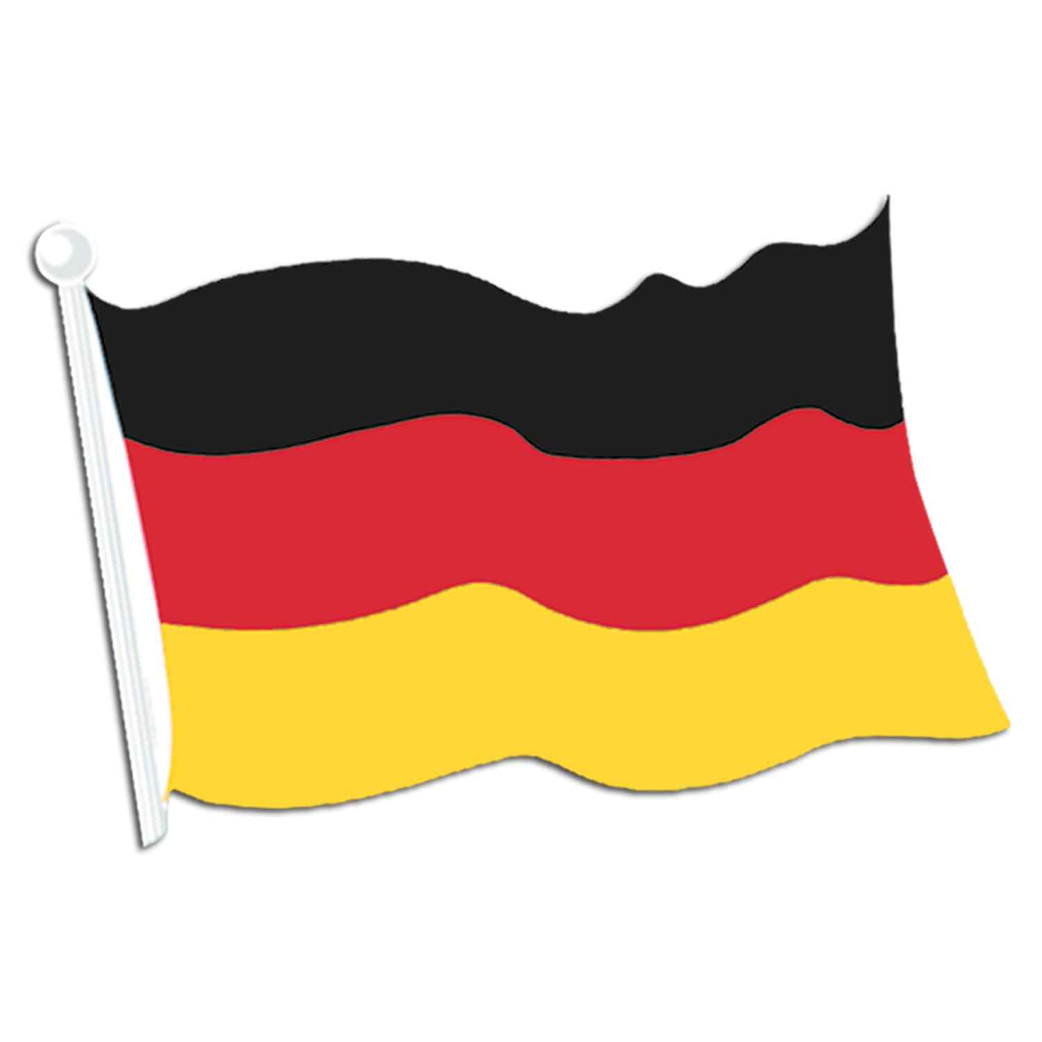 Flagge germany clip art at vector clip art.