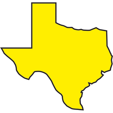 Texas Embossed Vinyl GLO Colors Roll Flagging Ribbon Clipart.