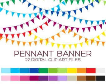 Clipart pennant flag.