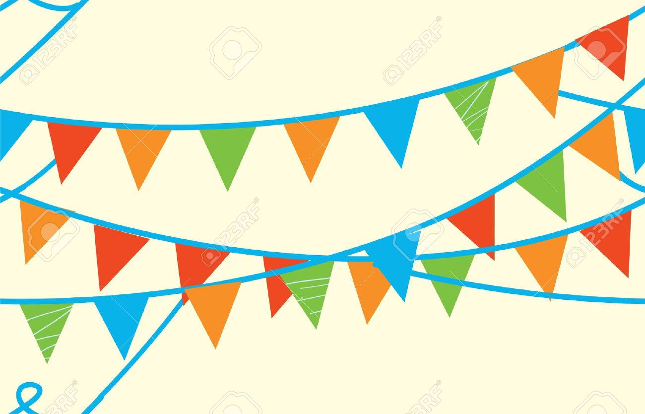 Seamless Banner With Flags For Kids Royalty Free Cliparts, Vectors.