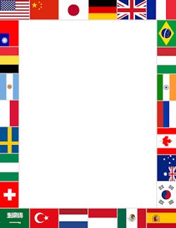 World Flags Border.