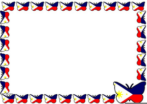 Flags Of The World Border Clipart.