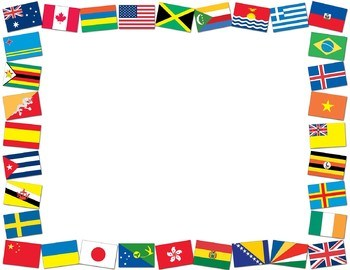 Flags of the world border clipart 1 » Clipart Portal.