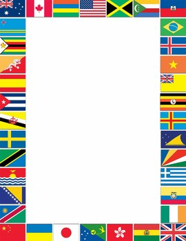 Borders and Frames: Flags of the World Borders and Frames.