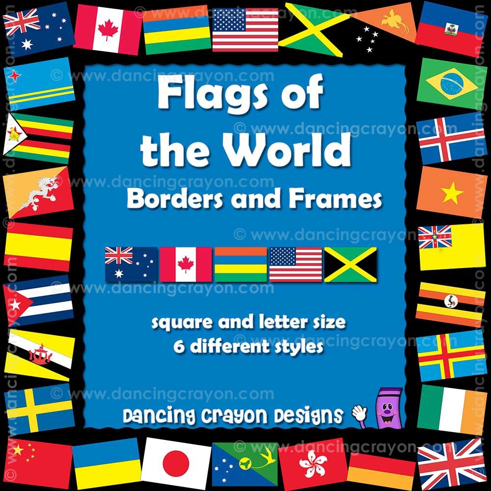 Flags of the World Borders.