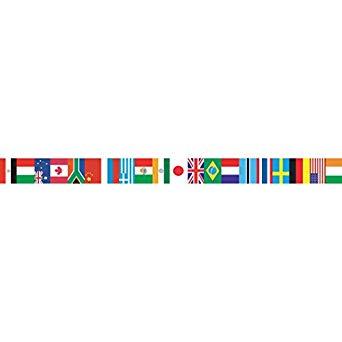 Edupress EP595 International Flags Spotlight Border, 3