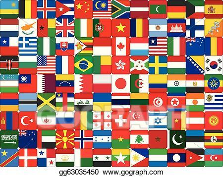 Clipart of flags of the world 3 » Clipart Portal.