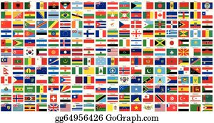World Flags Clip Art.