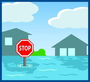 Flood water clipart.