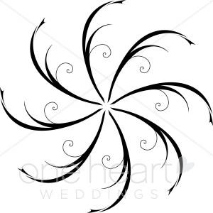 Spinning Pinwheel of Clip Art.