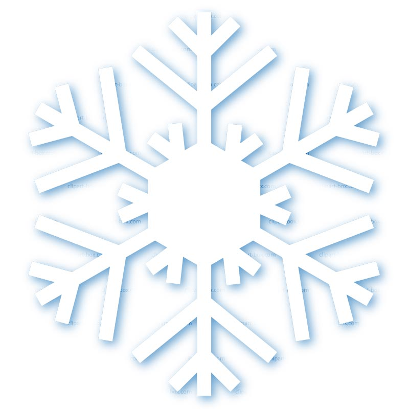 CLIPART SNOW FLAKE.