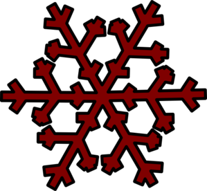 Brown flakes clipart.