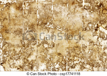 Clipart of Flaking paint wall from boards.