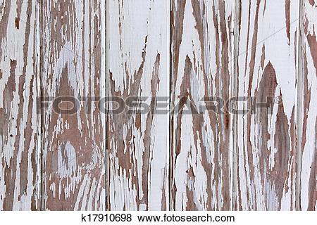 Pictures of Flaking Peeling Paint On White Wooden Panelled Door.