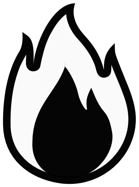 Flames flame clip art free free clipart images 4.