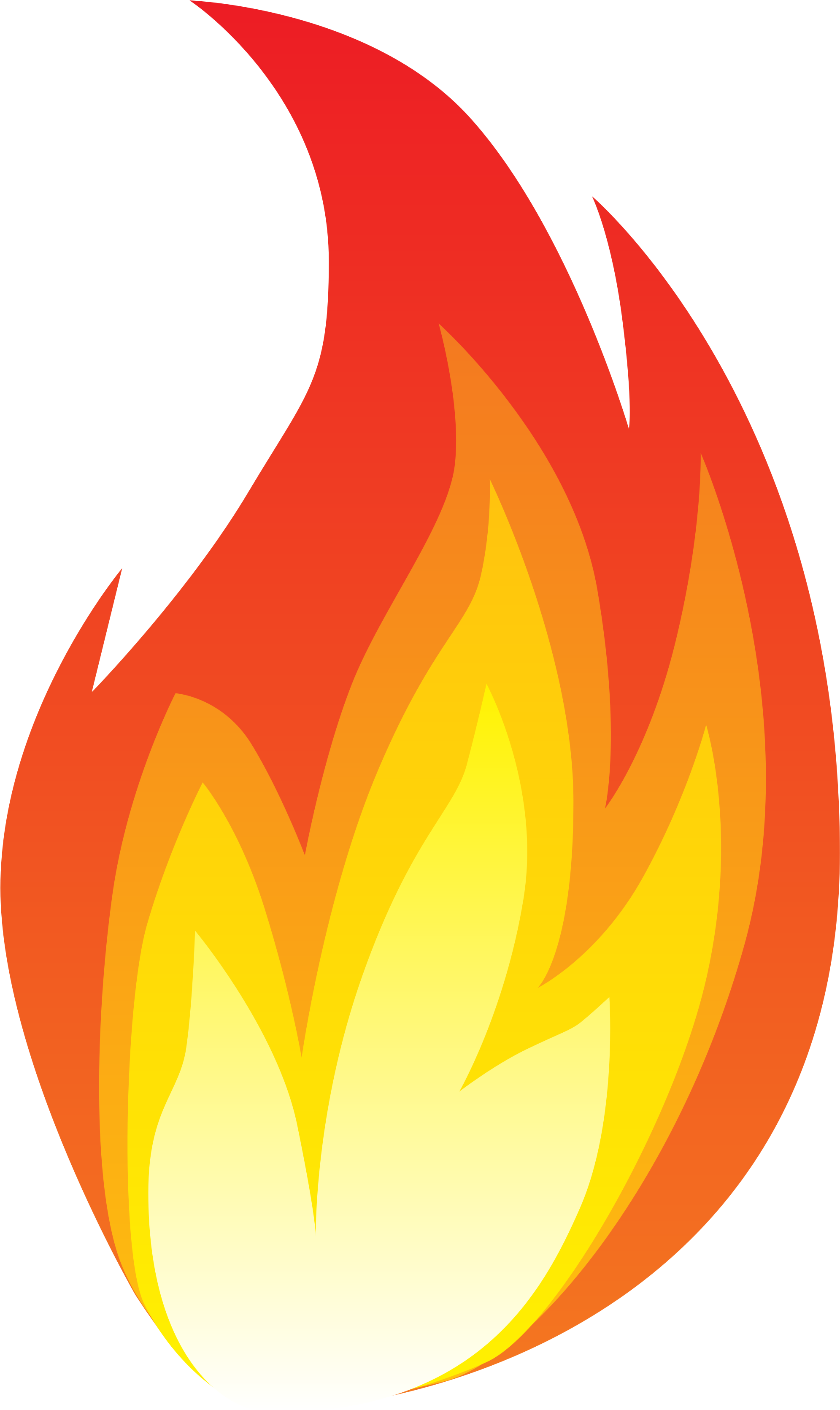 Flame Clipart Line Fire.