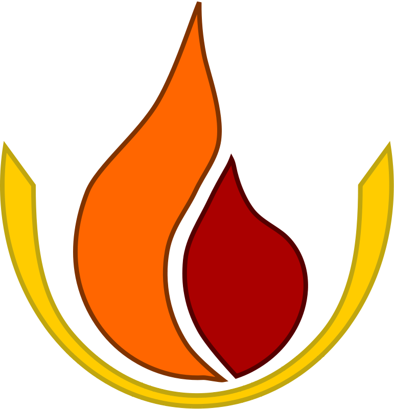 Free Clipart: Flame logo.