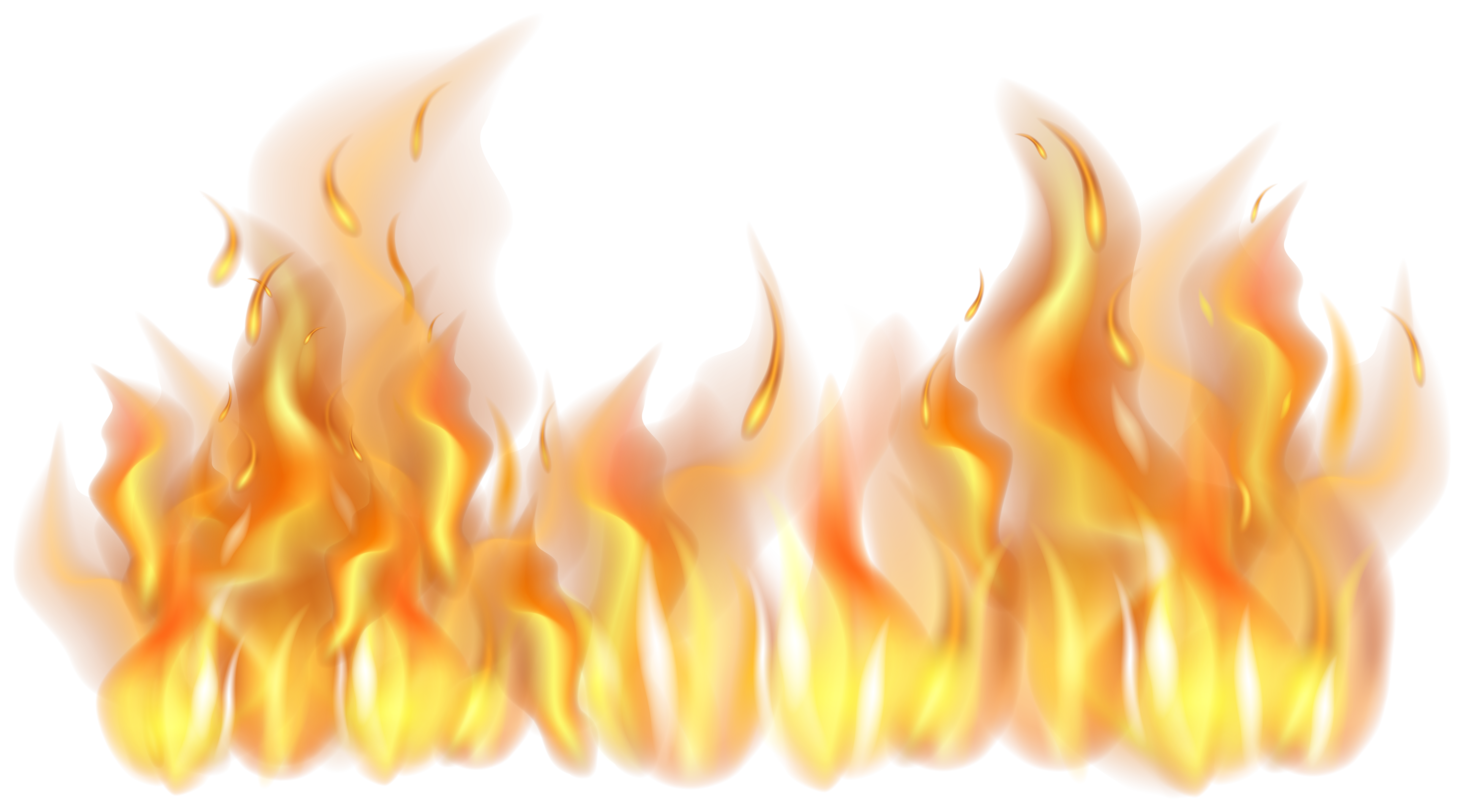 Fire Flames PNG Clipart.