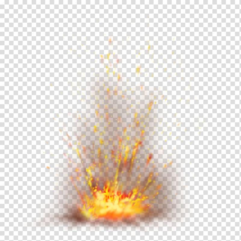 Explosion Spark, Firefox with Sparks , lava splash.