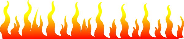Flame Border Clipart.