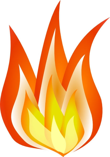 Flames Clipart.