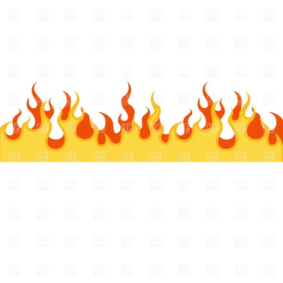 Flamed clipart #7