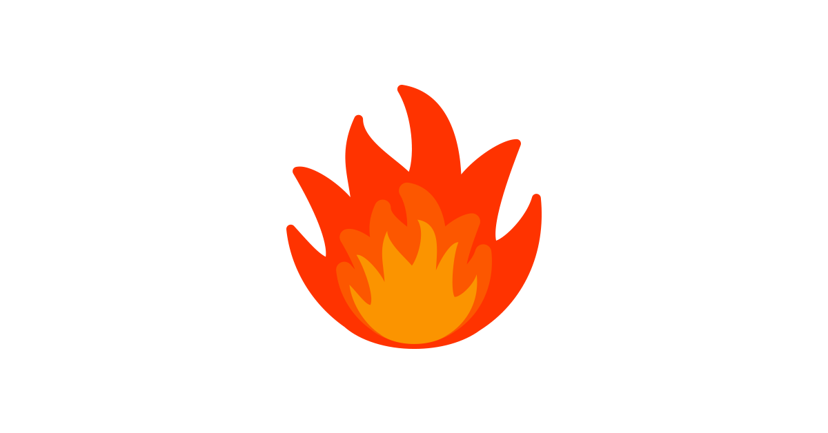 Red flames clipart.