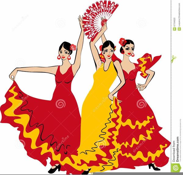 Flamenco Clipart Free.