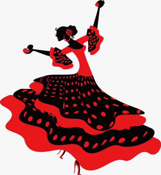 Flamenco Dancer PNG, Clipart, Backgrounds, Cartoon, Dance, Dancer.