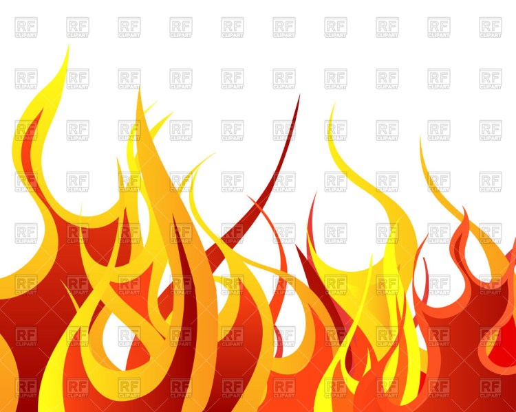 Flames background clipart 9 » Clipart Station.