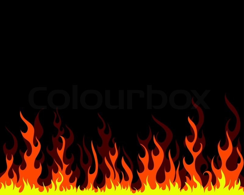 Flames background clipart 5 » Clipart Station.