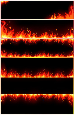 Fire flames border clipart free vector download (9,955 Free.