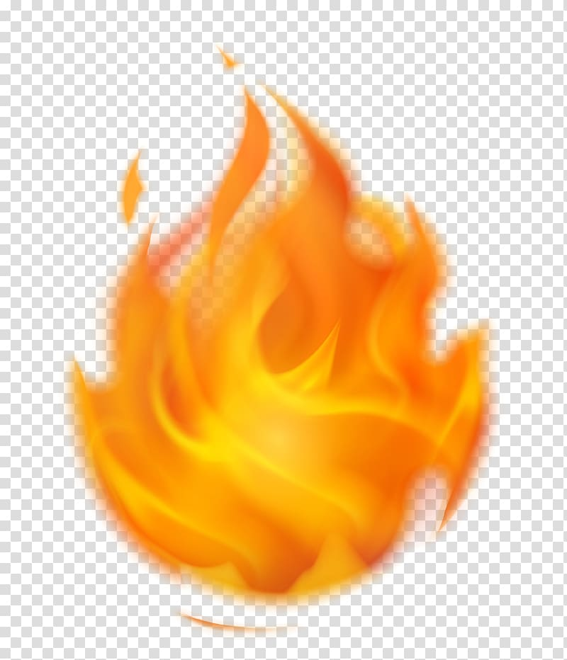 Fire Flame , Flaming Fire , orange flame transparent.
