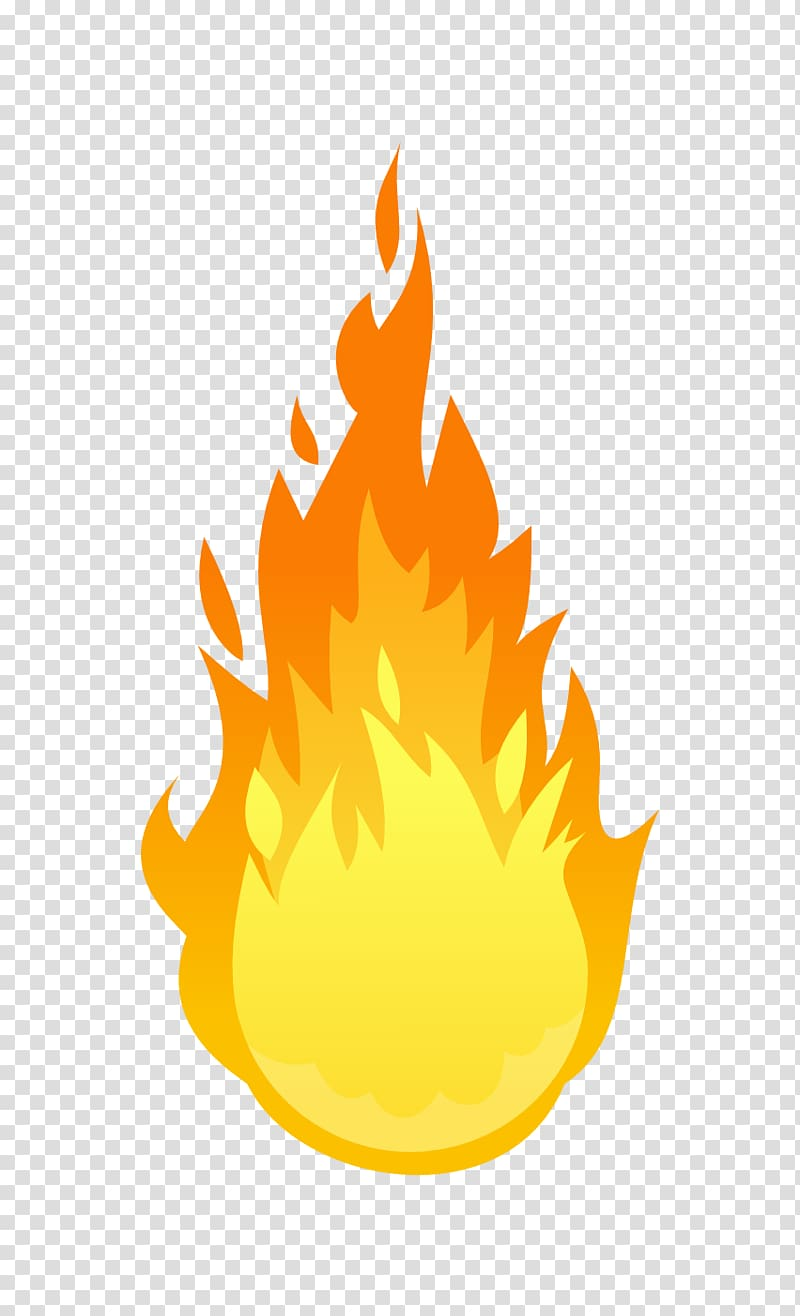 Fire illustration, Fire , Flame fire transparent background.