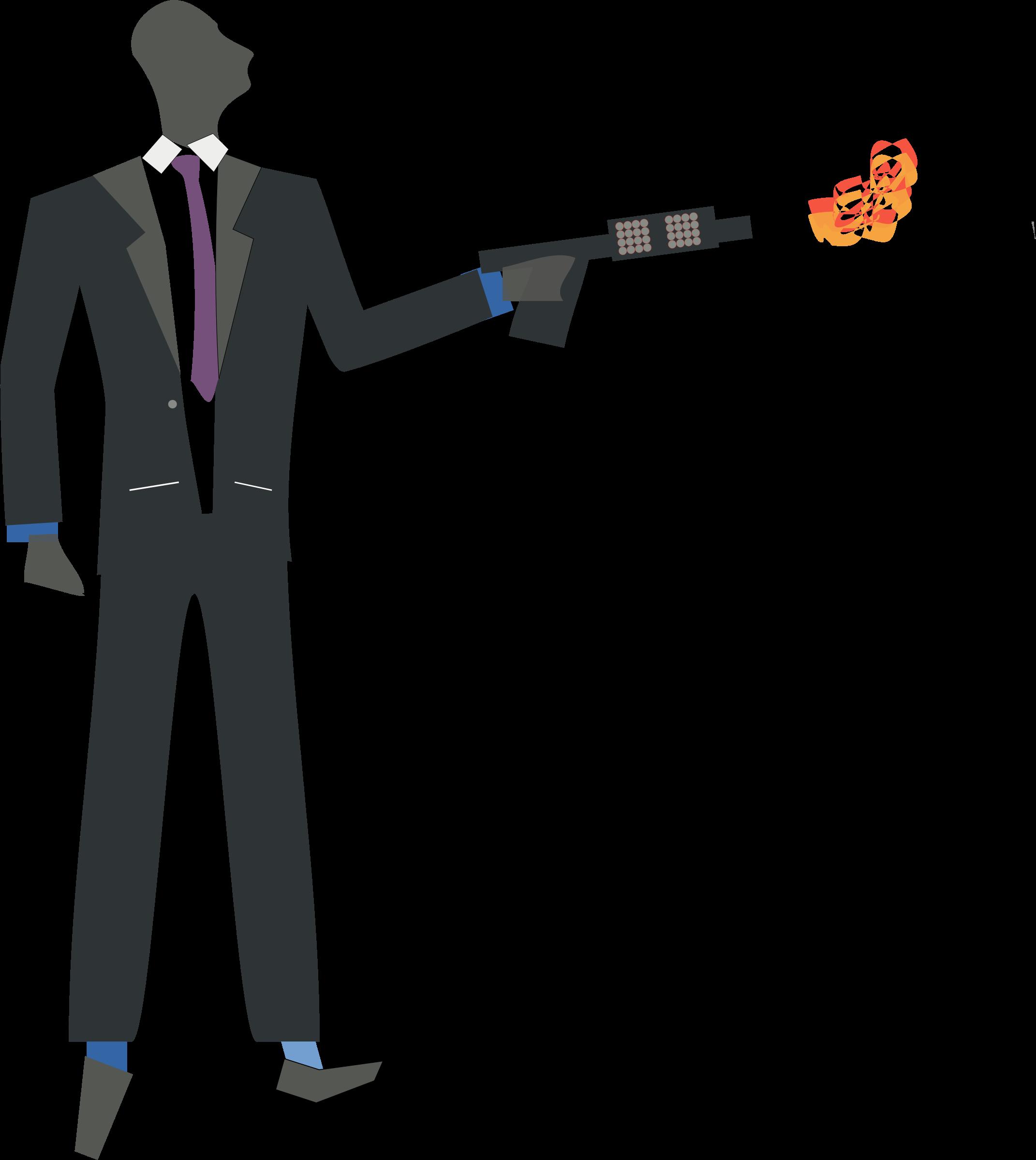 Flamethrower Clipart.