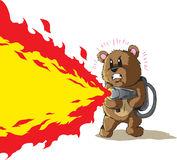 Flamethrower Stock Illustrations.