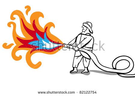 Flame Thrower Stock Vectors, Images & Vector Art.