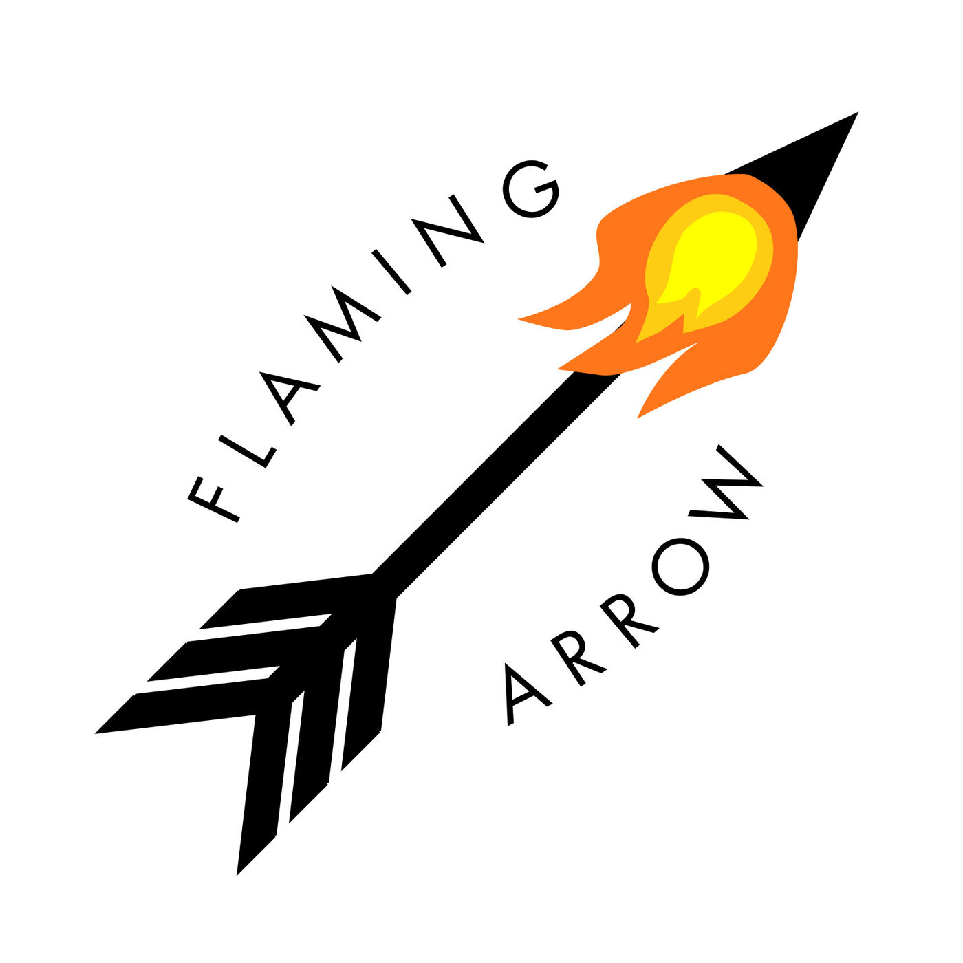 The Flaming Arrow Podcast.