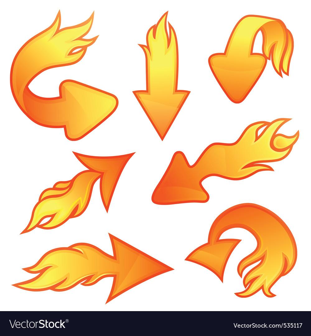 Fire arrows.