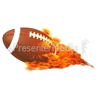Football Flaming.