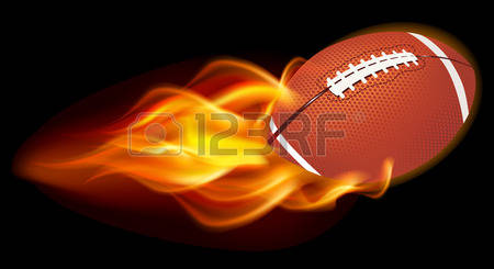 168 Flaming Football Stock Vector Illustration And Royalty Free.