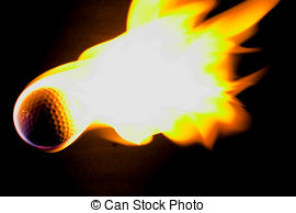 Flaming golf ball Images and Stock Photos. 224 Flaming golf ball.